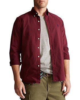 Polo Ralph Lauren - Cotton Garment Dyed Classic Fit Oxford Button Down Shirt