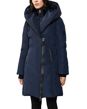 Mackage Kay Asymmetric Hooded Coat