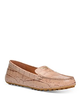 kate spade new york - Women's Deck Embossed Leather Moccasins