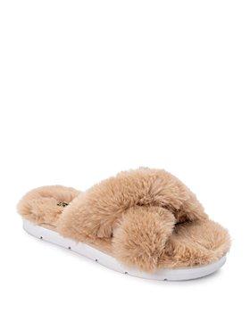 Dolce Vita - Women's Pillar Faux Fur Slippers