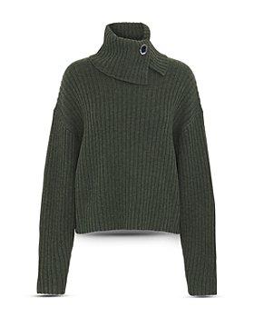 REMAIN - Francine Brooch Detail Turtleneck Sweater