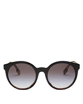 Burberry - Women's Round Sunglasses, 53mm