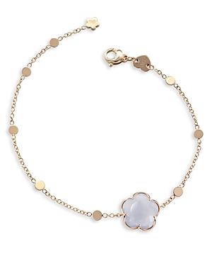 Pasquale Bruni 18K Rose Gold Bon Ton Blue Chalcedony Bracelet