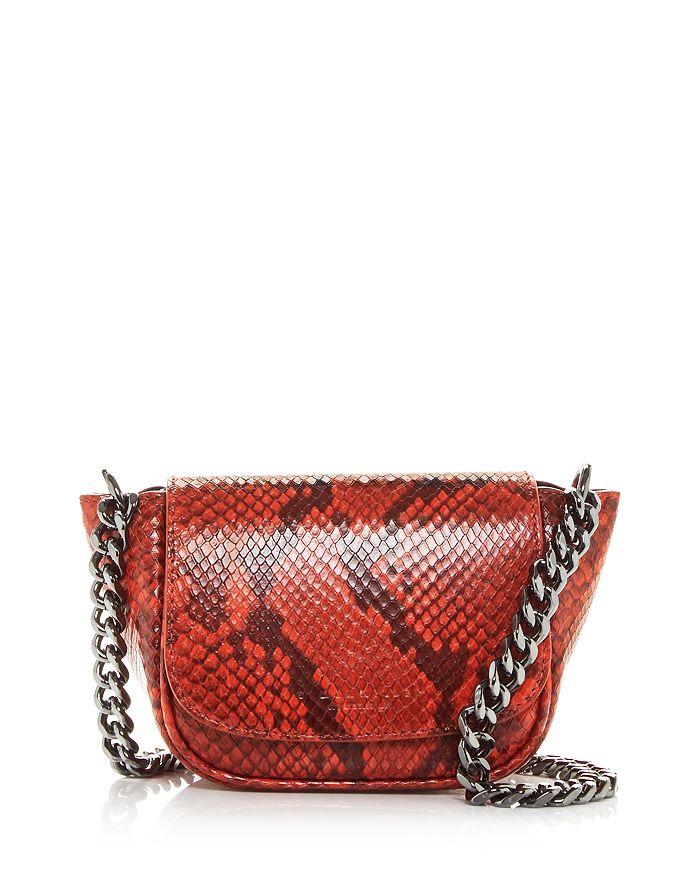SIMON MILLER - Mini Bend Leather Shoulder Bag