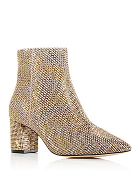 KURT GEIGER LONDON - Women's Burlington Block Heel Booties