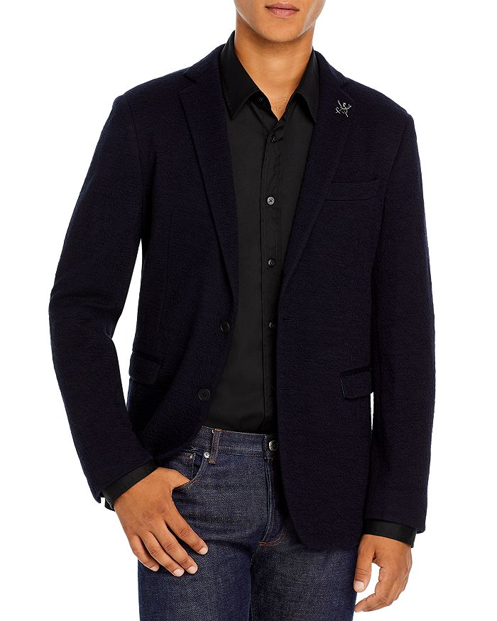 John Varvatos Star USA - Slim Fit Varick Textured Jersey Sport Coat