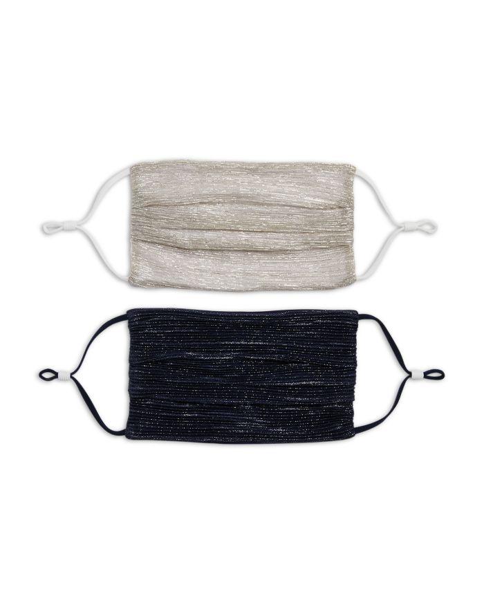 Jonathan Simkhai Jonathan Simkhai Metallic Face Masks, Set of 2  | Bloomingdale's