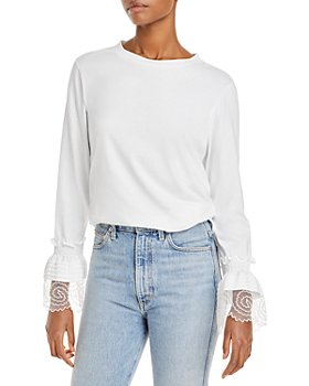 See by Chloé - Lace Embellished Cotton Top