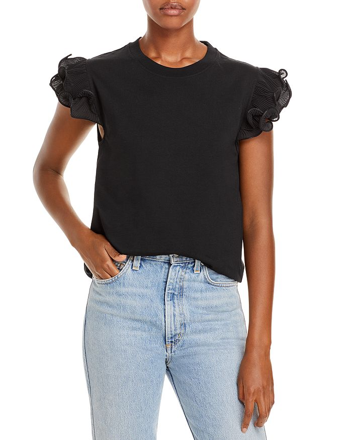 See by Chloé - Frilly T-Shirt