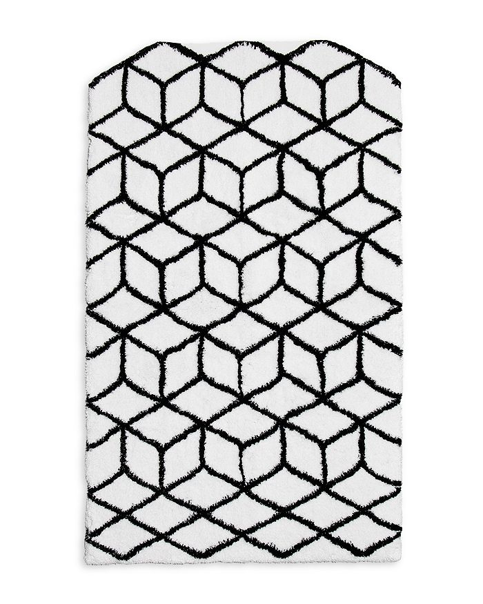 Abyss - Max Geometric Bath Rug - 100% Exclusive