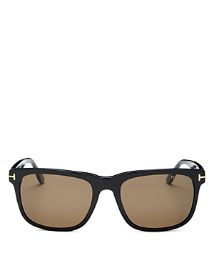 Tom Ford Men\\\'s Stephenson Polarized Square Sunglasses, 56mm-Jewelry & Accessories