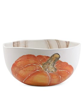 VIETRI - Pumpkins Deep Serving Bowl