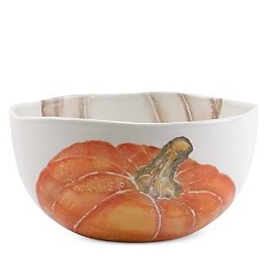 Vietri Pumpkins Deep Serving Bowl-Home