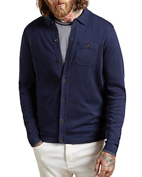Ted Baker - Eastend Knitted Shirt Cardigan