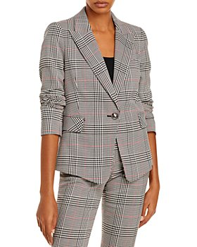 LINI - Eve Plaid Blazer - 100% Exclusive