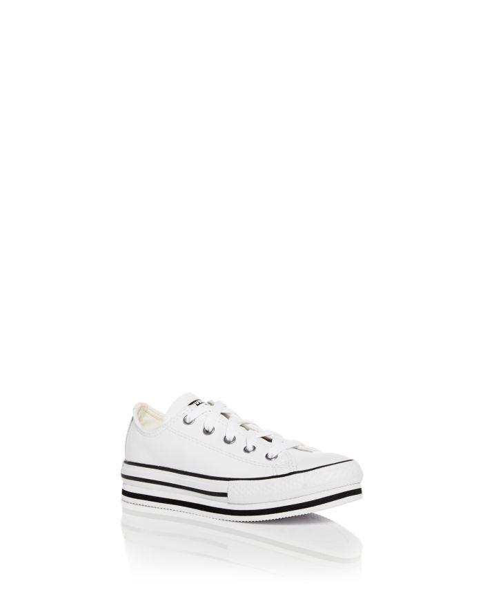 Converse Unisex Chuck Taylor All Star Platform Low Top Sneakers -  Little Kid, Big Kid  | Bloomingdale's