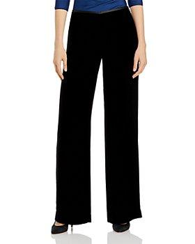Armani - Wide Leg Velvet Pants