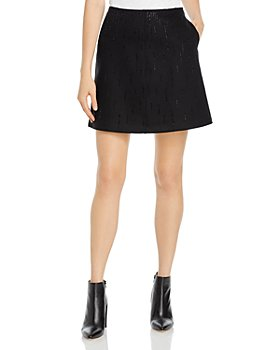 Armani - Wool Strass Embellished Skirt