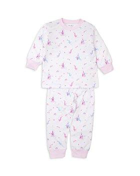 Kissy Kissy - Pima Cotton Dragon Print Pajama Top & Pants Set - Baby