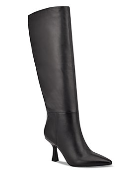 Marc Fisher LTD. - Women's Hallie Pointed Toe High Heel Tall Boots