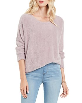 NIC and ZOE - Petites It's A Fluff Boat Neck Sweater