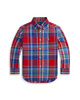 Ralph Lauren - Boys' Plaid Shirt - Little Kid
