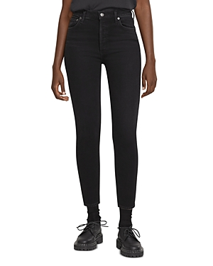 Agolde Nico Skinny Ankle Jeans in Compilation