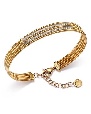 Marco Bicego 18K Yellow Gold Diamond Double Row Bracelet - 100% Exclusive