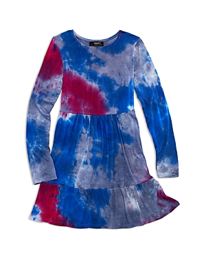 Aqua Girls\\\' Tiered Tie Dyed Dress, Big Kid - 100% Exclusive-Kids