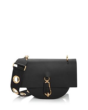 Zac Zac Posen Belay Medium Leather Saddle Shoulder Bag-Handbags