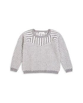 Miles Child - Boys' Zigzag Cotton Sweater - Little Kid