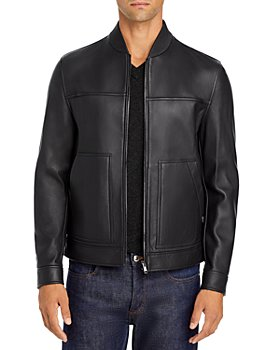 Theory - Fletcher Plover Leather Jacket - 100% Exclusive