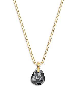 Swarovski T Bar Gray Crystal Pendant Necklace, 15.62
