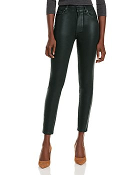 PAIGE - Hoxton Ankle Jeans in Wild Clover Luxe Coating - 100% Exclusive