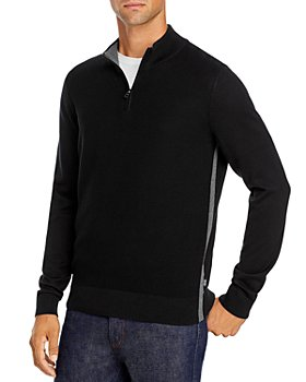 BOSS - Quarter-Zip Sweater