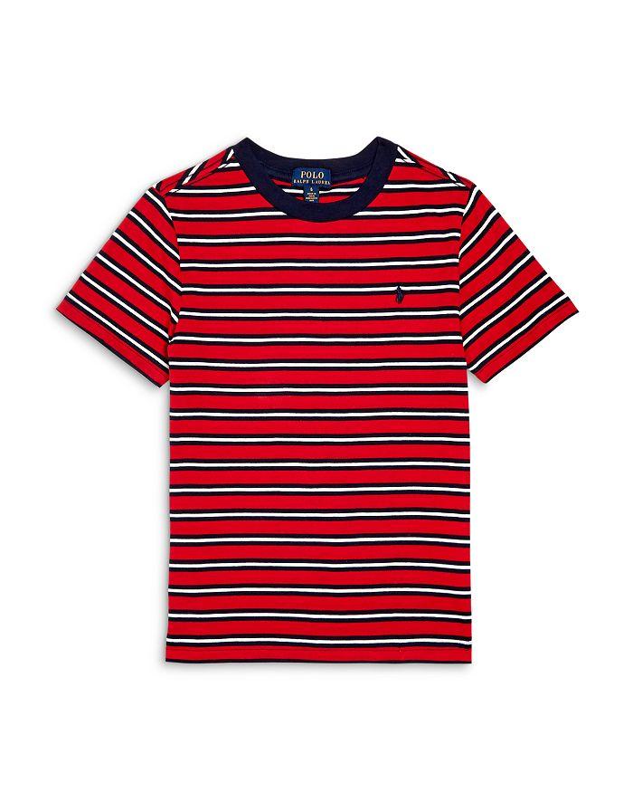 Ralph Lauren - Boys' Striped Cotton Tee - Little Kid, Big Kid