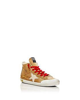 Golden Goose Deluxe Brand - Unisex Francy Shearling High Top Sneakers - Toddler, Little Kid