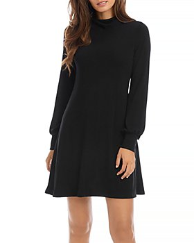 Karen Kane - Drape Neck Sweater Dress