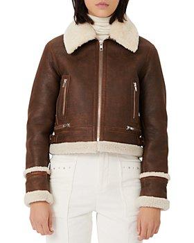 Maje - Bartonfinko Shearling Jacket