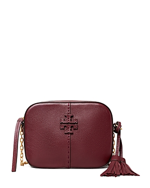 Tory Burch MCGRAW MINI LEATHER CROSSBODY CAMERA BAG