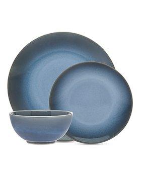 Godinger - Douro Reactive Glaze 18 Piece Dinnerware Set