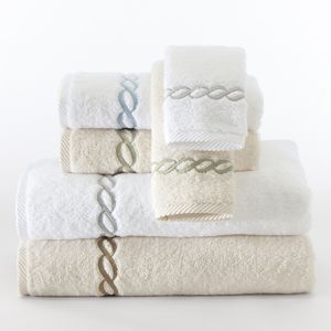 Matouk Classic Chain Washcloth