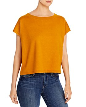 Eileen Fisher - Short Sleeve Top