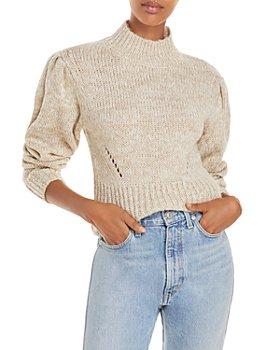 AQUA - Mock Neck Sweater - 100% Exclusive