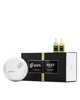 NEST Fragrances - Pura Smart Home Fragrance Diffuser Set with Bamboo & Grapefruit Refills