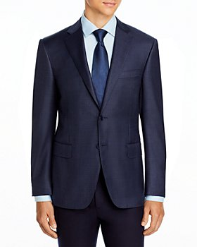Canali - Siena Stencil Check Classic Fit Suit - 100% Exclusive