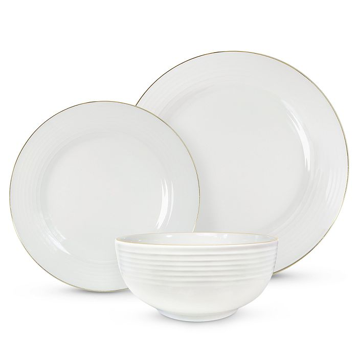 Godinger - Saba Gold 18 Piece Dinnerware Set - 100% Exclusive