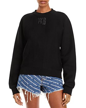 alexanderwang.t - Foundation Cotton Terry Sweatshirt