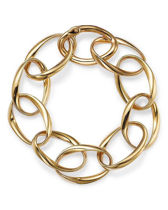 Alberto Amati 14k Yellow Gold Twisted Oval Chain Bracelet - 100% Exclusive