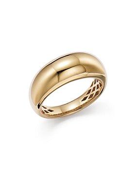 Alberto Amati - 14K Yellow Gold Dome Ring - 100% Exclusive